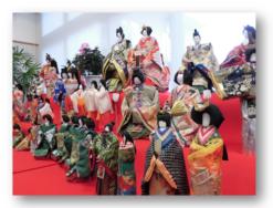 おひなさま展|長岡三古老人福祉会