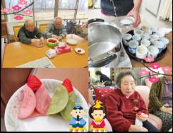 ひな祭り|長岡三古老人福祉会