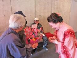踊りの見学|長岡三古老人福祉会