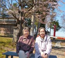 お花見会を行いました|長岡三古老人福祉会