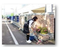 クリーン活動スタート!|長岡三古老人福祉会