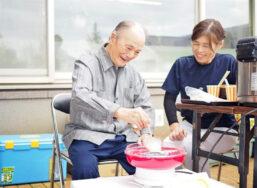 収穫感謝祭|長岡三古老人福祉会