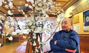 桜が満開です|長岡三古老人福祉会