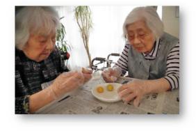 梅雨の晴れ間に|長岡三古老人福祉会