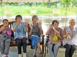 蓮まつり|長岡三古老人福祉会