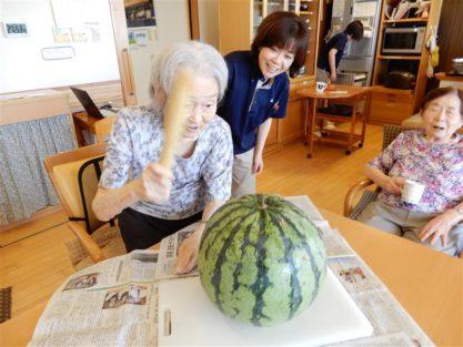 今週の一枚H30年8月27日|長岡三古老人福祉会