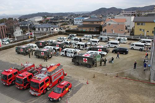 災害支援活動|長岡三古老人福祉会