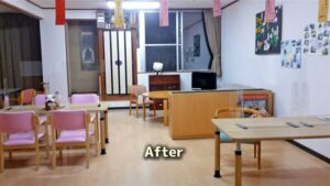 畳スペースが新しくなりました 長岡三古老人福祉会