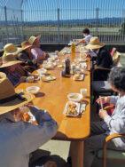 秋の野外食|長岡三古老人福祉会