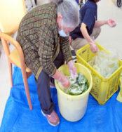 『たい菜漬け』を行いました!|長岡三古老人福祉会