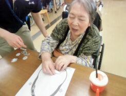 『福笑い』|長岡三古老人福祉会