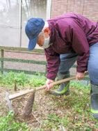 タケノコ掘り|長岡三古老人福祉会